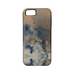 Deep Time Clouds Apple Iphone 5 Classic Hardshell Case (pc+silicone) by LoolyElzayat