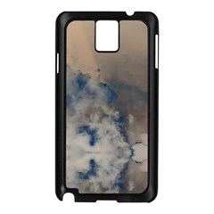 Deep Time Clouds Samsung Galaxy Note 3 N9005 Case (black) by LoolyElzayat