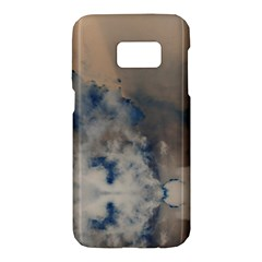 Deep Time Clouds Samsung Galaxy S7 Hardshell Case  by LoolyElzayat