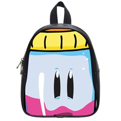 Purp Baby Bottle School Bag (small) by grimelab