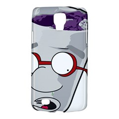 Purple Cup Nerd Samsung Galaxy S4 Active (i9295) Hardshell Case