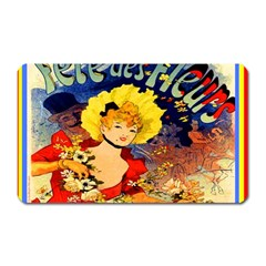 Jules Chéret Magnet (rectangular) by ArtworkByPatrick