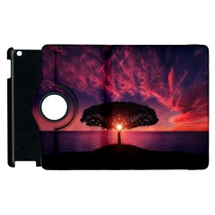 Flight Landscape Nature Sky Apple Ipad 2 Flip 360 Case