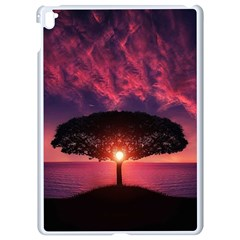Flight Landscape Nature Sky Apple Ipad Pro 9 7   White Seamless Case