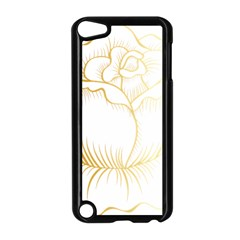 Golden Rose Stakes Apple Ipod Touch 5 Case (black)