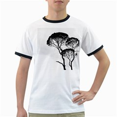 Silhouette Photo Of Trees Ringer T