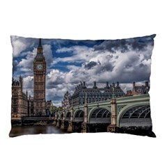 Architecture Big Ben Bridge Buildings Pillow Case (two Sides)