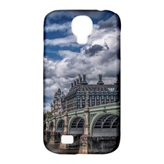 Architecture Big Ben Bridge Buildings Samsung Galaxy S4 Classic Hardshell Case (pc+silicone)
