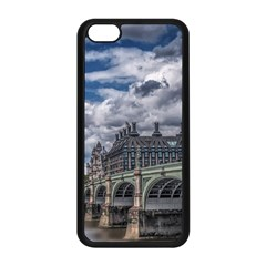 Architecture Big Ben Bridge Buildings Apple Iphone 5c Seamless Case (black)
