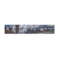 Architecture Big Ben Bridge Buildings Flano Scarf (mini)