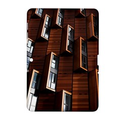 Abstract Architecture Building Business Samsung Galaxy Tab 2 (10 1 ) P5100 Hardshell Case  by Samandel