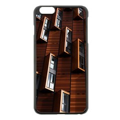 Abstract Architecture Building Business Apple Iphone 6 Plus/6s Plus Black Enamel Case