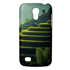 Scenic View Of Rice Paddy Samsung Galaxy S4 Mini (gt I9190) Hardshell Case