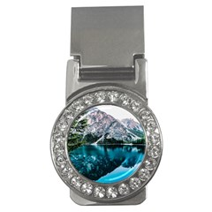Daylight Forest Glossy Lake Money Clips (cz)
