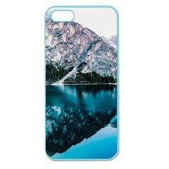 Daylight Forest Glossy Lake Apple Seamless Iphone 5 Case (color)