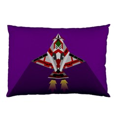 Toy Plane Outer Space Launching Pillow Case by Samandel