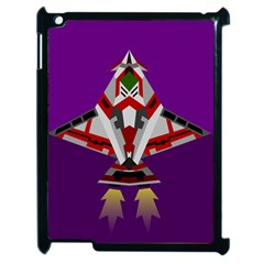 Toy Plane Outer Space Launching Apple Ipad 2 Case (black) by Samandel