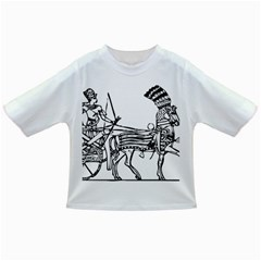 Line Art Drawing Ancient Chariot Infant/toddler T Shirts by Samandel