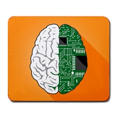 Technology Brain Digital Creative Large Mousepads