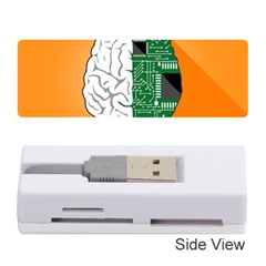 Technology Brain Digital Creative Memory Card Reader (stick) by Samandel