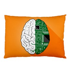 Technology Brain Digital Creative Pillow Case (two Sides)