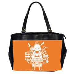 Taiwan Changhua Wikiproject Oversize Office Handbag (2 Sides)
