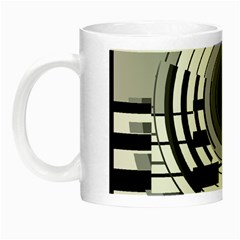Glass Illustration Technology Night Luminous Mugs
