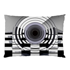 Glass Illustration Technology Pillow Case (two Sides)