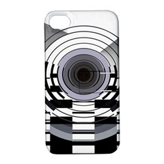 Glass Illustration Technology Apple Iphone 4/4s Hardshell Case With Stand