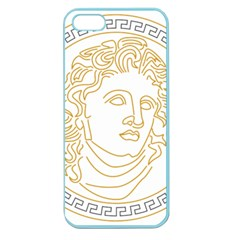 Apollo Design Draw Vector Nib Apple Seamless Iphone 5 Case (color)