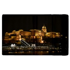 Budapest Buda Castle Building Scape Apple Ipad 3/4 Flip Case by Samandel