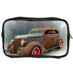 Auto Old Car Automotive Retro Toiletries Bag (two Sides)
