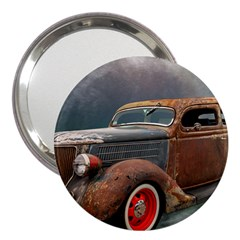 Auto Old Car Automotive Retro 3  Handbag Mirrors