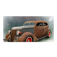 Auto Old Car Automotive Retro Satin Wrap
