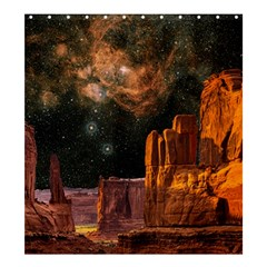Geology Sand Stone Canyon Shower Curtain 66  X 72  (large)