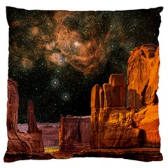 Geology Sand Stone Canyon Standard Flano Cushion Case (one Side)