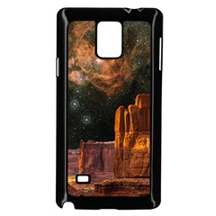 Geology Sand Stone Canyon Samsung Galaxy Note 4 Case (black)