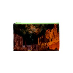 Geology Sand Stone Canyon Cosmetic Bag (xs)