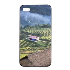 Rock Scenery The H Mong People Home Apple Iphone 4/4s Seamless Case (black)