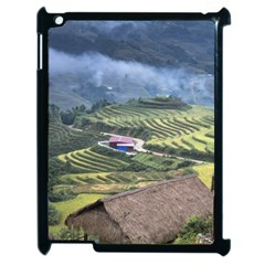 Rock Scenery The H Mong People Home Apple Ipad 2 Case (black)