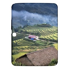Rock Scenery The H Mong People Home Samsung Galaxy Tab 3 (10 1 ) P5200 Hardshell Case