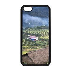 Rock Scenery The H Mong People Home Apple Iphone 5c Seamless Case (black)