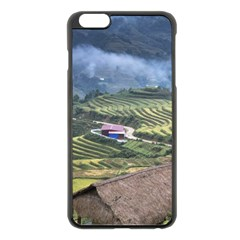 Rock Scenery The H Mong People Home Apple Iphone 6 Plus/6s Plus Black Enamel Case