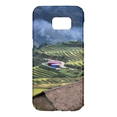Rock Scenery The H Mong People Home Samsung Galaxy S7 Edge Hardshell Case