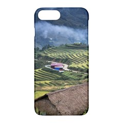Rock Scenery The H Mong People Home Apple Iphone 7 Plus Hardshell Case by Samandel