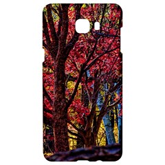 Autumn Colorful Nature Trees Samsung C9 Pro Hardshell Case