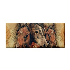 Head Horse Animal Vintage Hand Towel