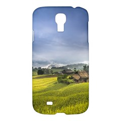 Vietnam Terraces Rice Silk Samsung Galaxy S4 I9500/i9505 Hardshell Case