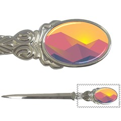 Image Sunset Landscape Graphics Letter Opener by Samandel