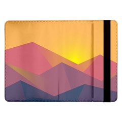 Image Sunset Landscape Graphics Samsung Galaxy Tab Pro 12 2  Flip Case